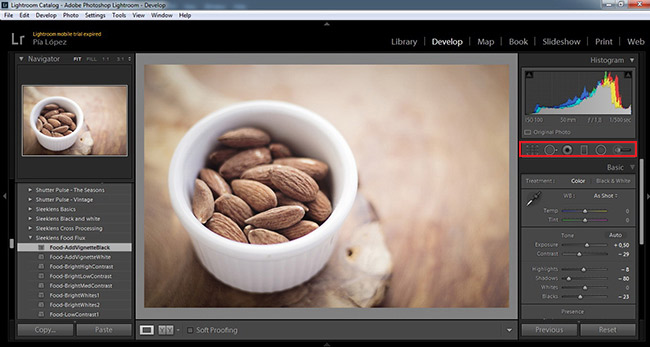 Cover to Lightroom 6