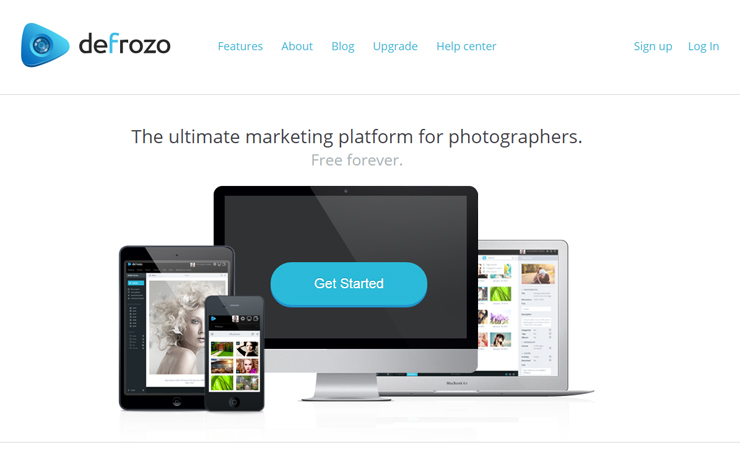 Defrozo website