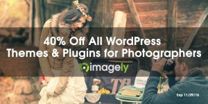 40% off photography websites on Black Friday
