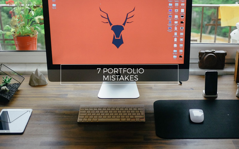 Don't make these 7 mistakes with your online photography portfolio.