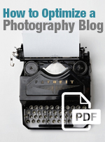 Free download - how to optimize a photography blog ebook