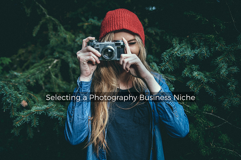 photographer selecting a business niche
