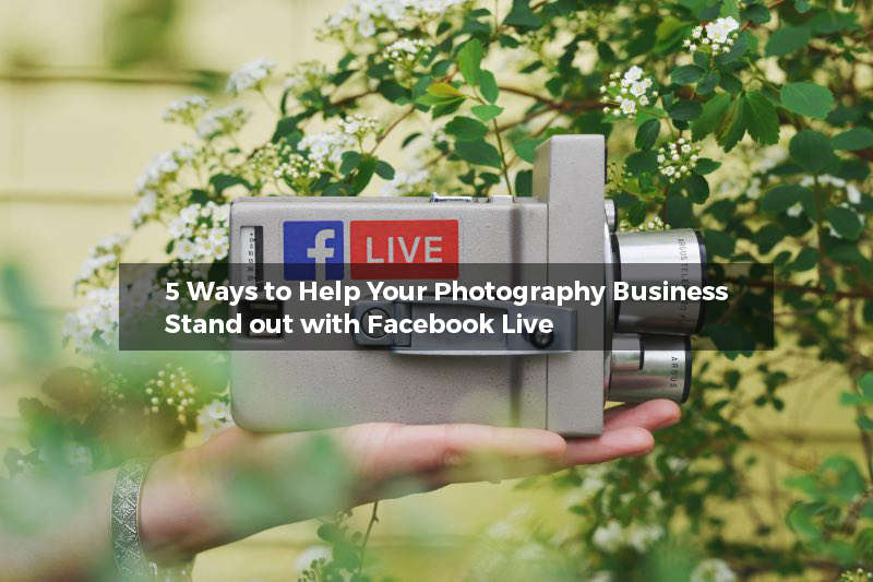 Video camera Facebook Live