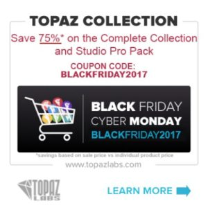 Topaz labs black friday sale