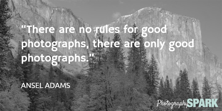There are no rules for good photographs, there are only good photographs. See 20 more photography quotes on this page.