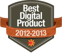Best Digital Photography Product Badge 2012-2013