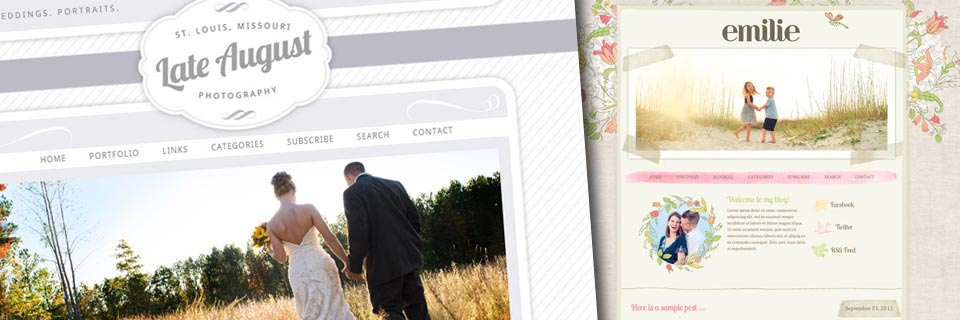 Best Web Template for Photographers - Pro Photo