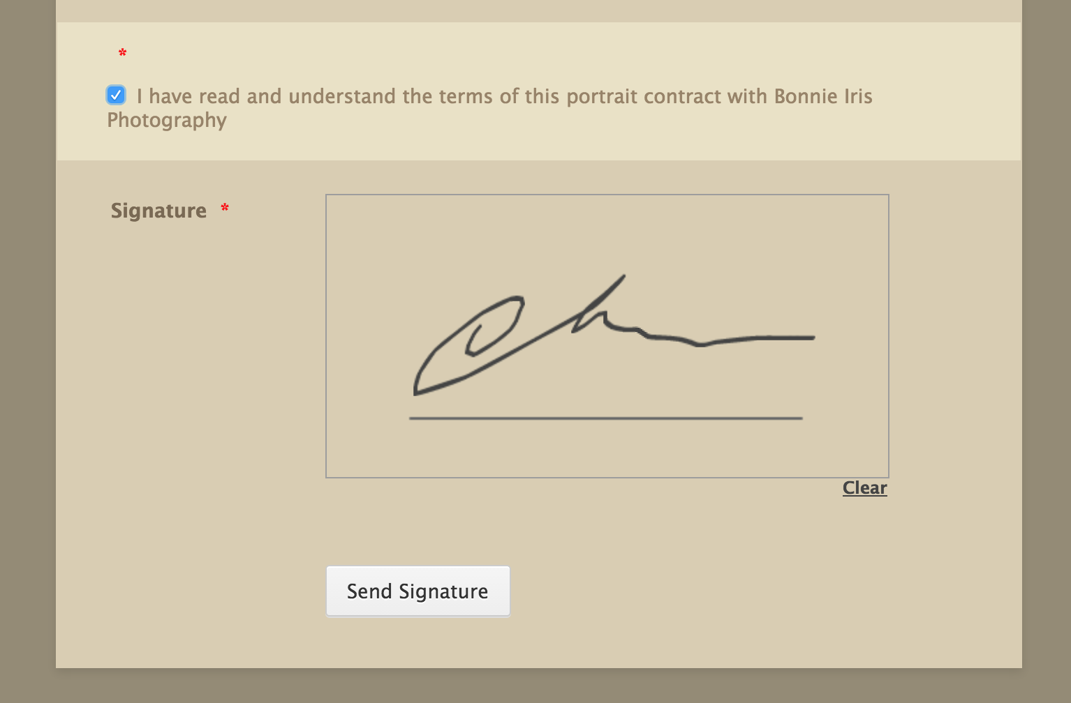How to collect signatures via online forms