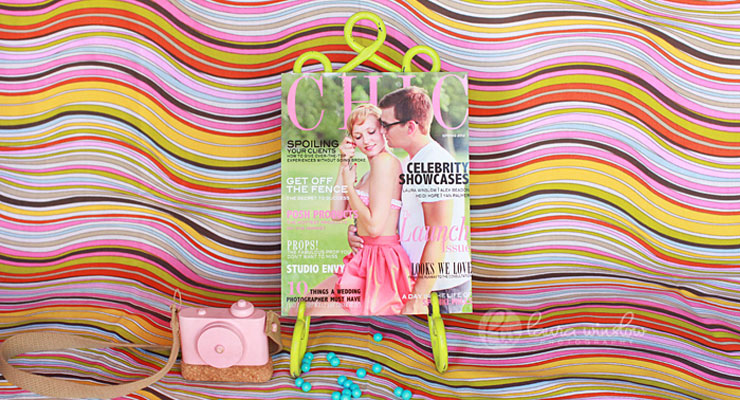 Chic is a professional magazine for woman photographers
