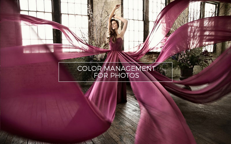 Color management for photos