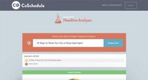 Analyze your article headline