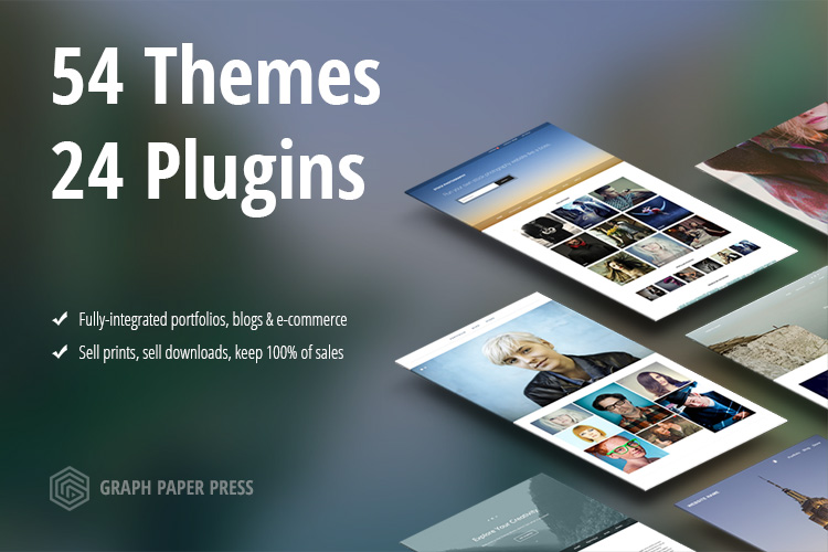 Graph Paper Press Website Themes