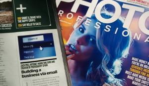 Zach Prez article in Photo Professional magazine