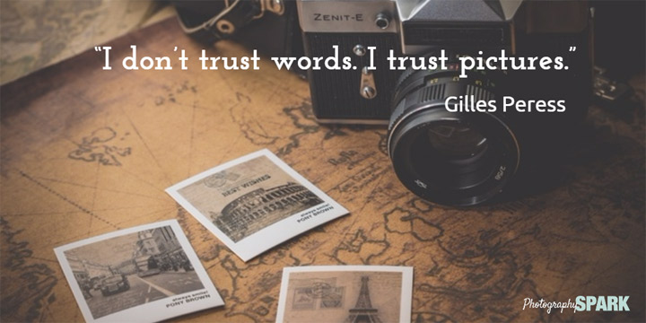 I trust pictures! Perfect for photographers. Click on this Pin for more.