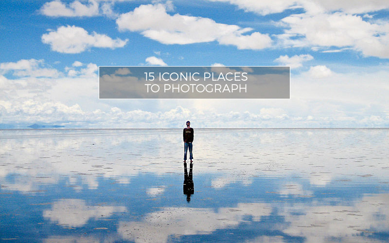 The salt flats of Bolivia are one of the most iconic places to photograph