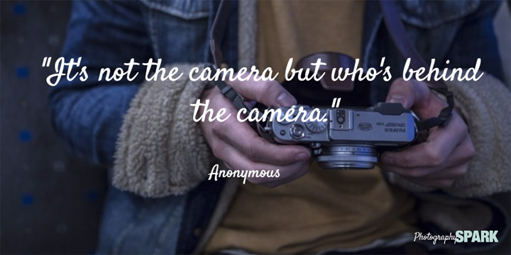 Can I take credit for this quote? More camera quotes in this article.