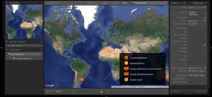 Maps in Lighrtroom