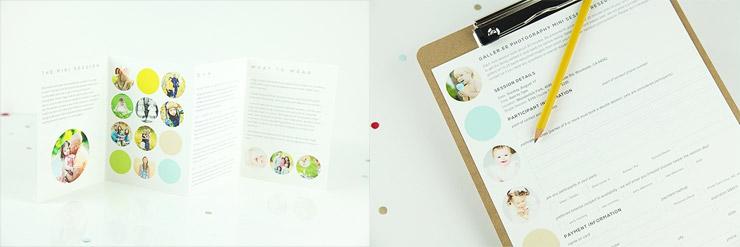 5 piece mini session marketing pack