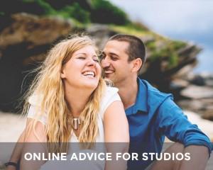 Online advice for studios