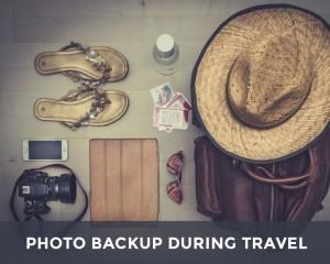 Backing up photos while traveling