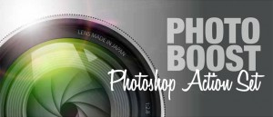 Photo Boost Photoshop Actions Logo