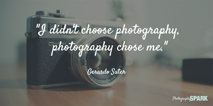 Did photography choose you? See more awesome quotes by clicking this Pin.