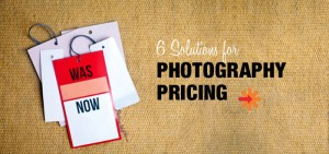 Photography pricing solutions