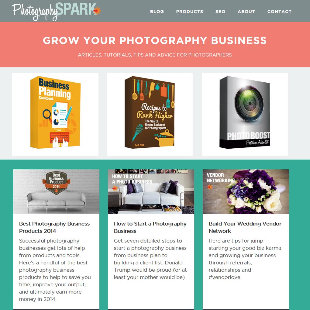 photography business description