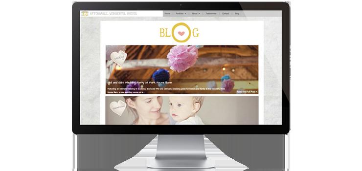 The flat website design trend