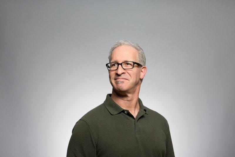 portrait man with glasses