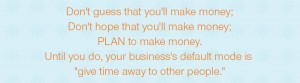 Quote about confidence in pricing