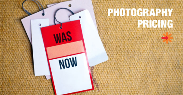 Photography price tag