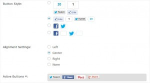 rtsocial plugin with facebook twitter pinterest