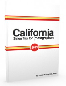 Sales tax guides for photographers - more states available