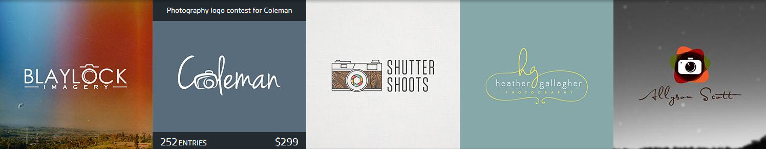 5 examples of photography logos that are crowdsourced