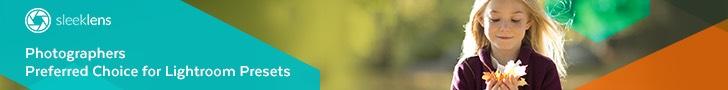 sleeklens lightroom presets banner