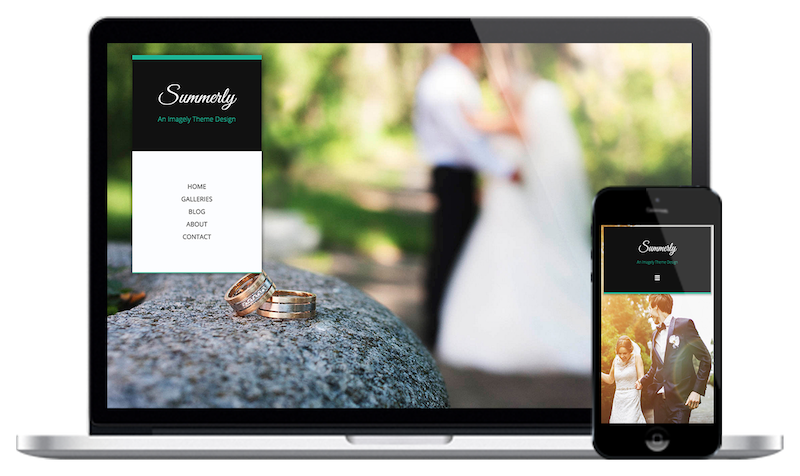 Summerly Website Theme by Imagely