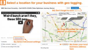 Video optimization step 8 - geo location