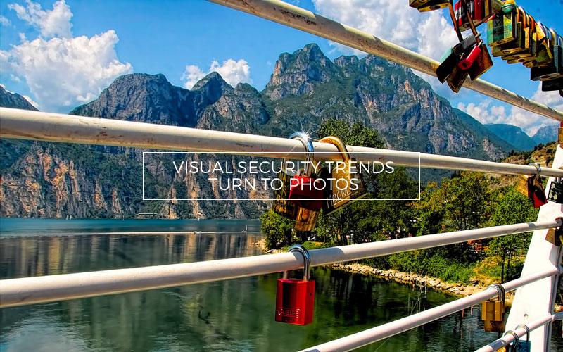 Secureity locks on a bridge