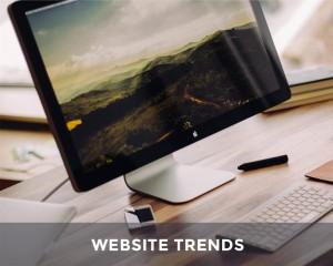 7 website trends